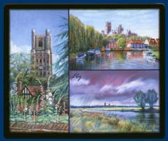 Mouse mat of Ely, Cambridgeshire