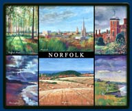 Mouse mat of Norfolk