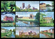 Cambridgeshire postcard