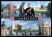 Duke and Duchess of Cambridge postcard