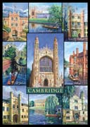 Cambridge postcard