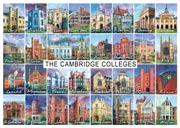 All 31 Cambridge colleges postcard