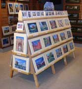 my prints stand at Parade Gift Shop